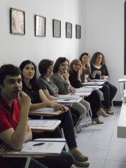 uczestnicy szkolenia dokształcającego