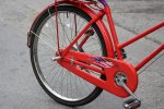 czerwony rower